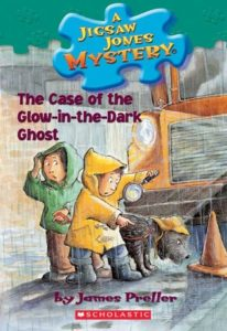 The Case of the Glow-in-the-Dark Ghost (Jigsaw Jones Mystery #24) by James Preller